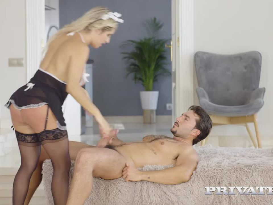 Sexy Maid Debuts With DP Threesome (AnalIntroductions / Private) Screenshot 4