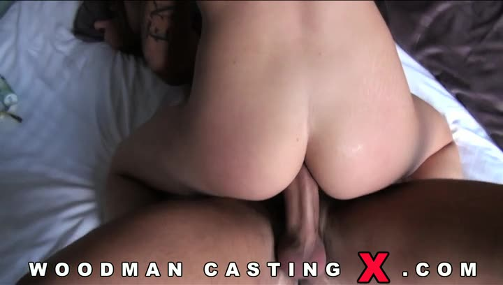 [WoodmanCastingX / PierreWoodman] Casting and Hardcore - Sophie Lynx (DP)/(Natural Tits)