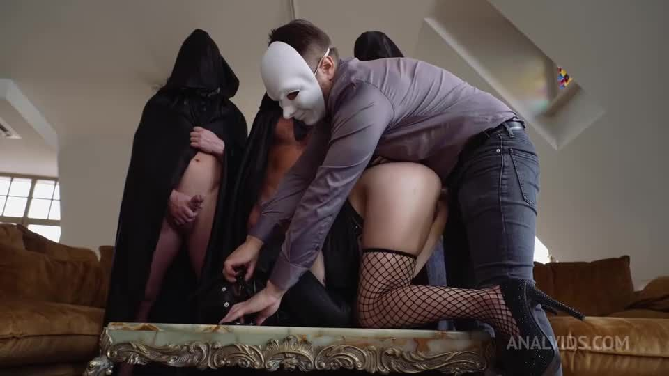 Deal with the Devil! Triple initiation into the ranks of dirty Whores (Triple, DAP, DPP, DP) NRX136 (LegalPorno / AnalVids) Screenshot 1