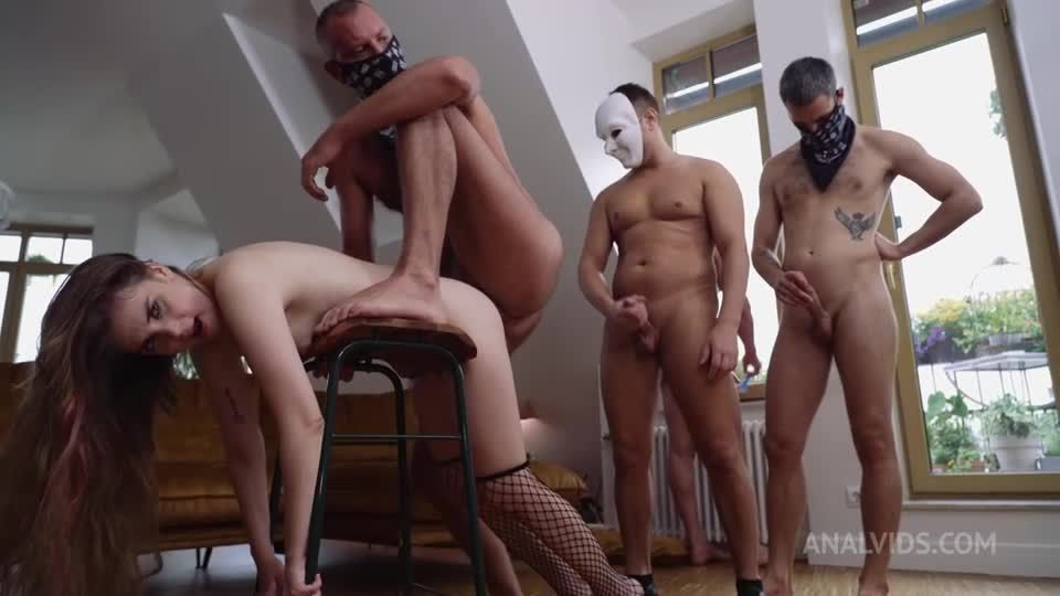 Deal with the Devil! Triple initiation into the ranks of dirty Whores (Triple, DAP, DPP, DP) NRX136 (LegalPorno / AnalVids) Screenshot 8