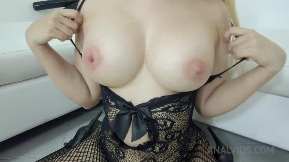 Two BBC DP for hot latina slut NT012 (LegalPorno) Screenshot 2