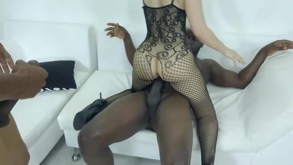 Two BBC DP for hot latina slut NT012 (LegalPorno) Screenshot 3