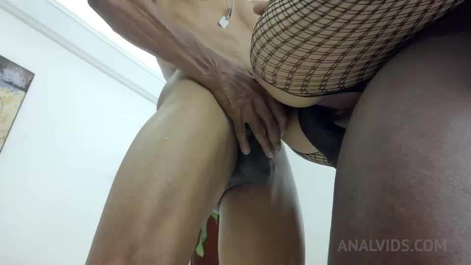 Two BBC DP for hot latina slut NT012 (LegalPorno) Screenshot 5