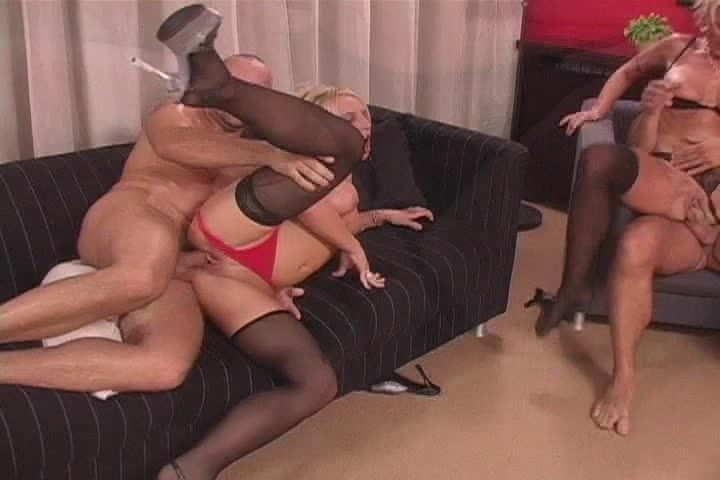 [DVSX] Double Parked 6: Moving Violations - Gina Blonde, Vivian Schmitt (DP)/(Stockings)