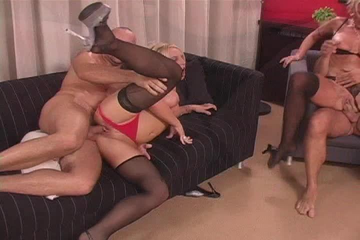 [DVSX] Double Parked 6: Moving Violations - Gina Blonde, Vivian Schmitt (DP)/(Stockings)
