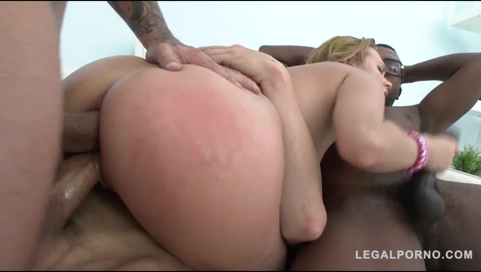 [LegalPorno] Mini gangbang & double penetration - Emily Thorne (GangBang)/(Blonde)