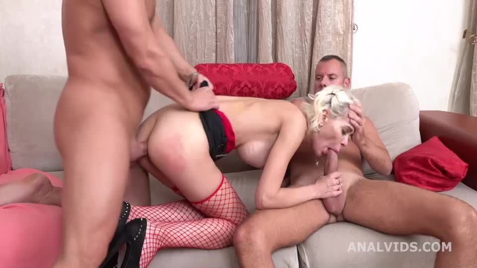 My first DP, Balls Deep in every hole, with Gapes and Facial (LegalPorno / AnalVids) Screenshot 3