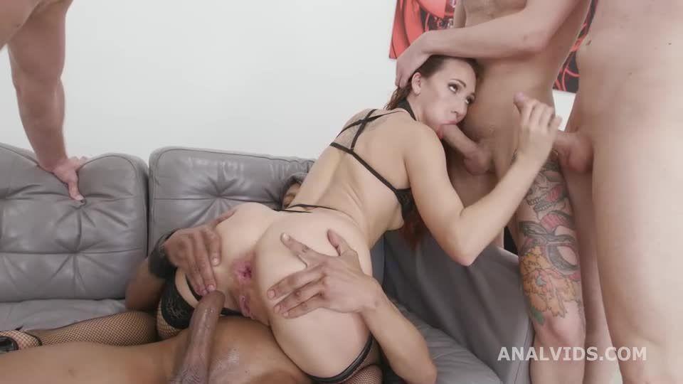 DAP Destination, DAP, Gapes, Wrecked Ass, ButtRose, Squirt and Swallow (LegalPorno / AnalVids) Screenshot 3