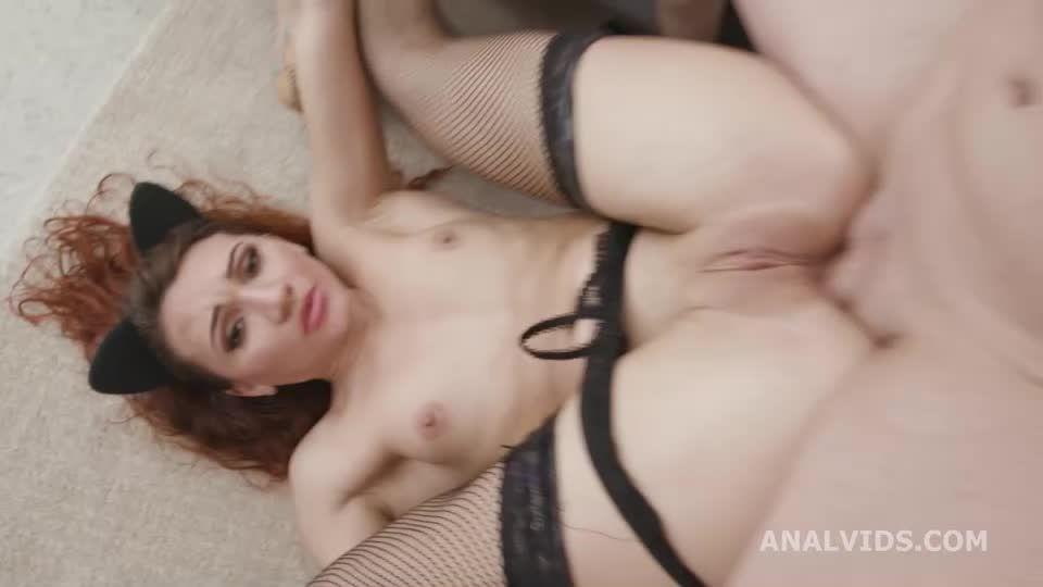 DAP Destination, DAP, Gapes, Wrecked Ass, ButtRose, Squirt and Swallow (LegalPorno / AnalVids) Screenshot 7