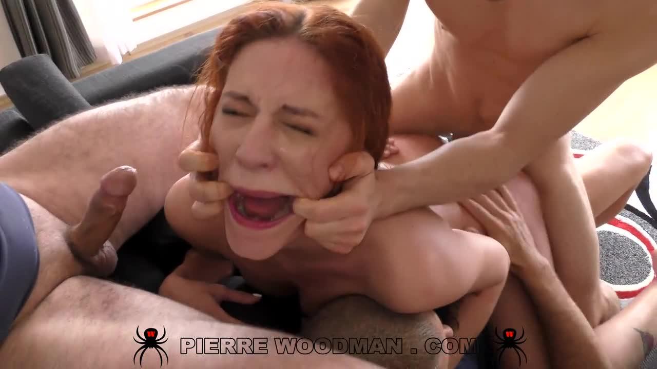XXXX – Rough slapped destroyed whore by 4 men (PierreWoodman / WoodmanCastingX) Cover Image