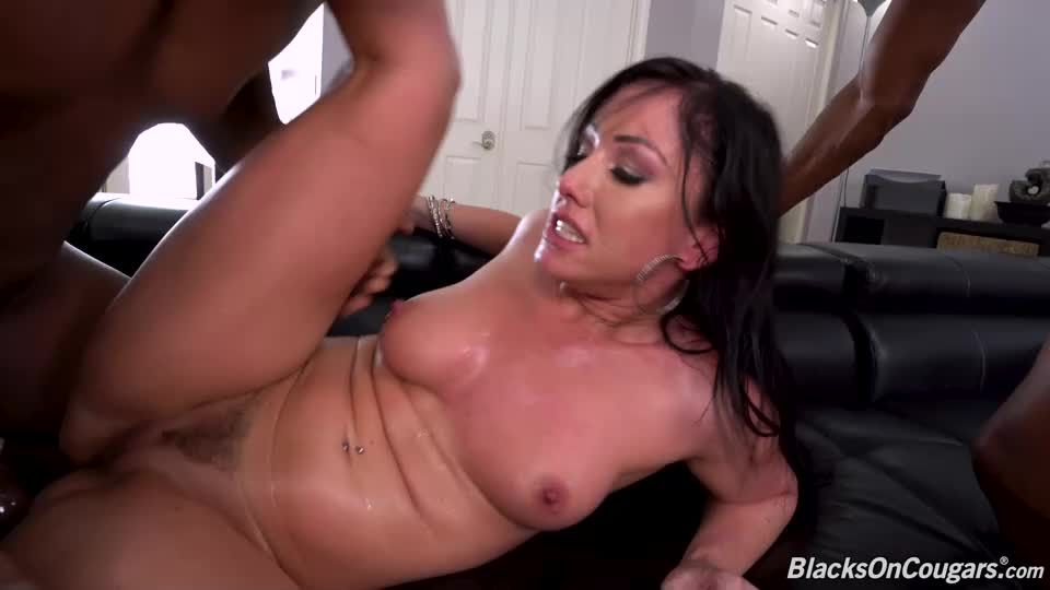 Two Big Black Cock (BlacksOnCougars / DogFartNetwork) Screenshot 7