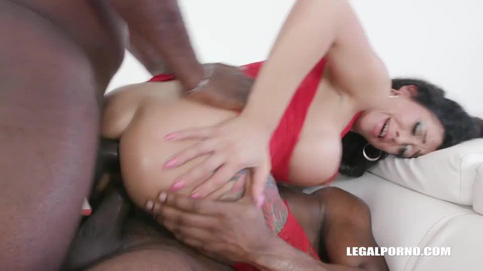 [LegalPorno] Keeps enjoying black cocks - Morgan XX (DAP)/(Toys)