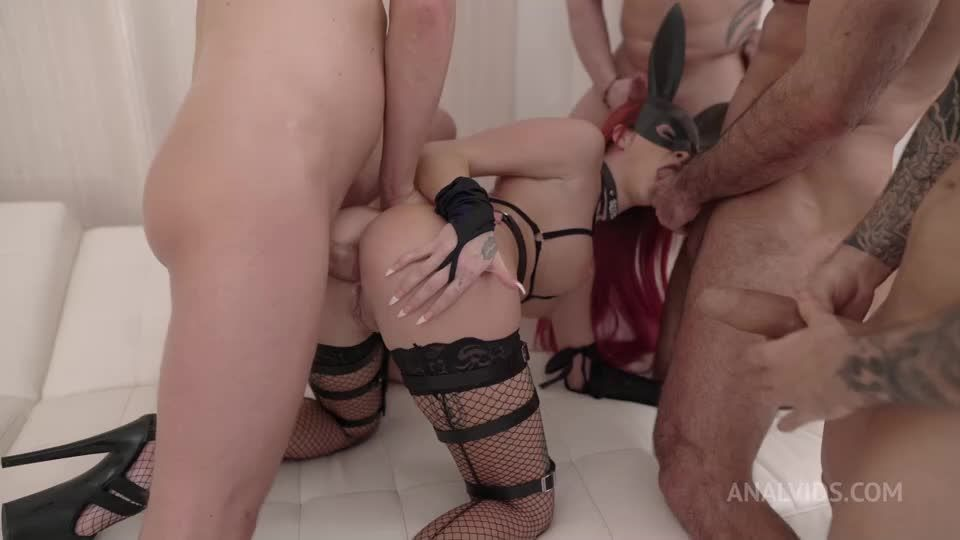 Amazing Sexy Rabbit, Piss Drinking, Double Anal, deepthroat, anal, cum swallow NF070 (LegalPorno / AnalVids) Screenshot 1