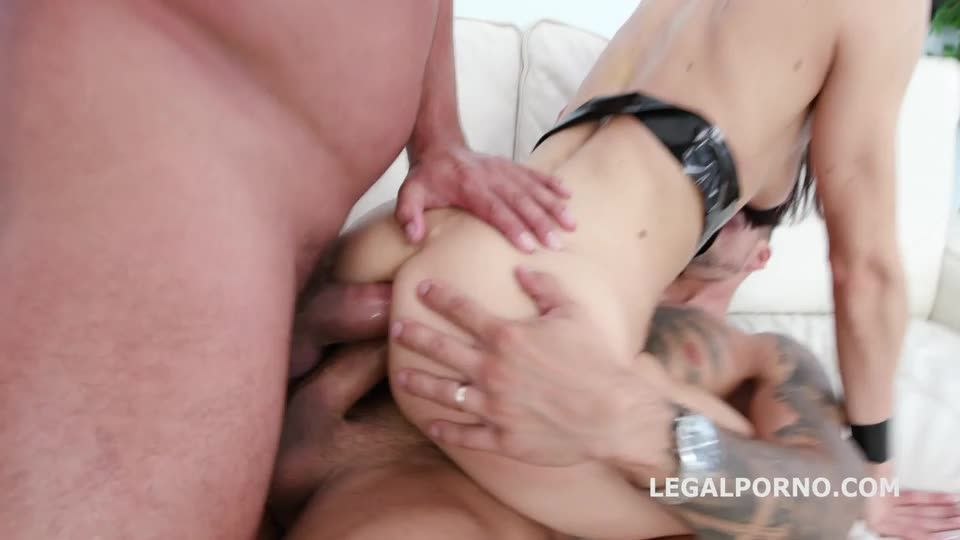 Anal Fisting with Balls Deep Anal, DAP, Gapes, ATM, Swallow (LegalPorno) Screenshot 2