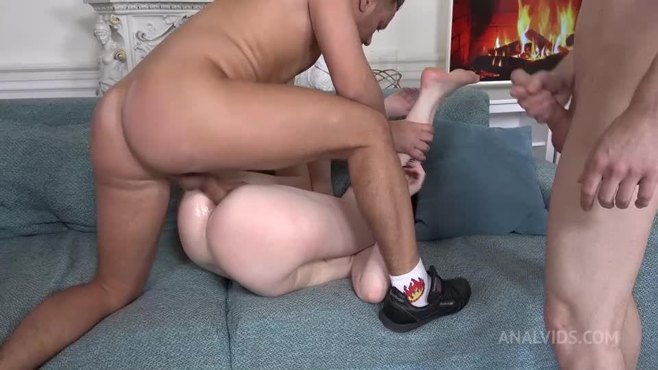 "DAP Breaking cute kitty ""Hard Meow""! Double anal, Rimming NRX109 (LegalPorno / AnalVids) Screenshot 7"