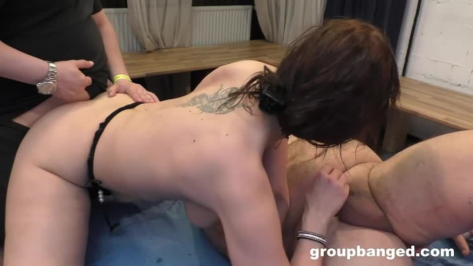 Crazy anal slut gangbanged (GroupBanged / RealGangBangs) Screenshot 9