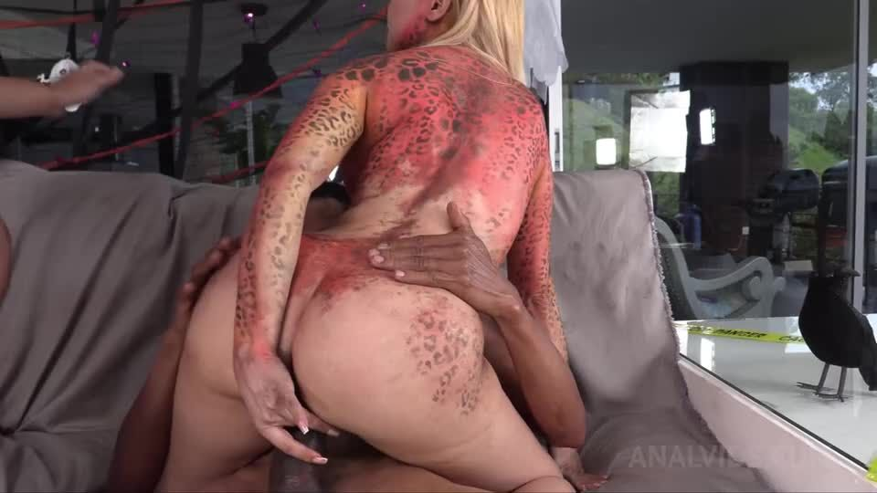 Happy Halloween from Natasha Teen productions! Hot Orgy with NT041 (LegalPorno) Screenshot 6