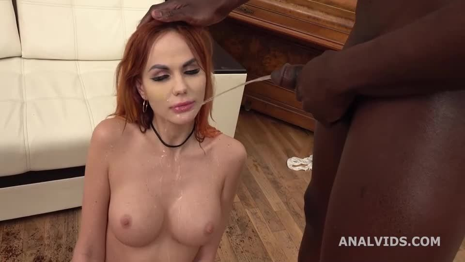 Wet in Russia, Balls Deep Anal, DP, Pee, Gapes and Cum in Mouth (LegalPorno / AnalVids) Screenshot 4