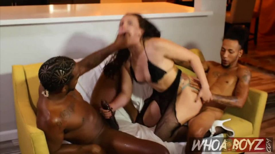 Gangbang BBC Slut Training (WhoaBoyz) Screenshot 3