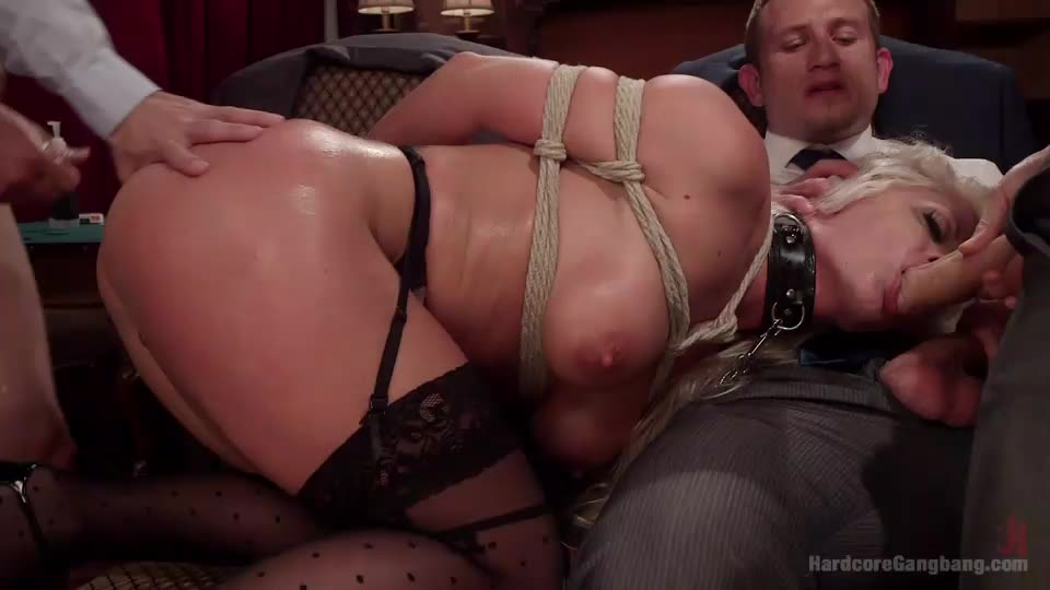 [HardcoreGangBang / Kink] All In: Holly Heart gets Tripple Penetrated by Huge fat cocks! - Holly Heart (DAP)/(Rough)
