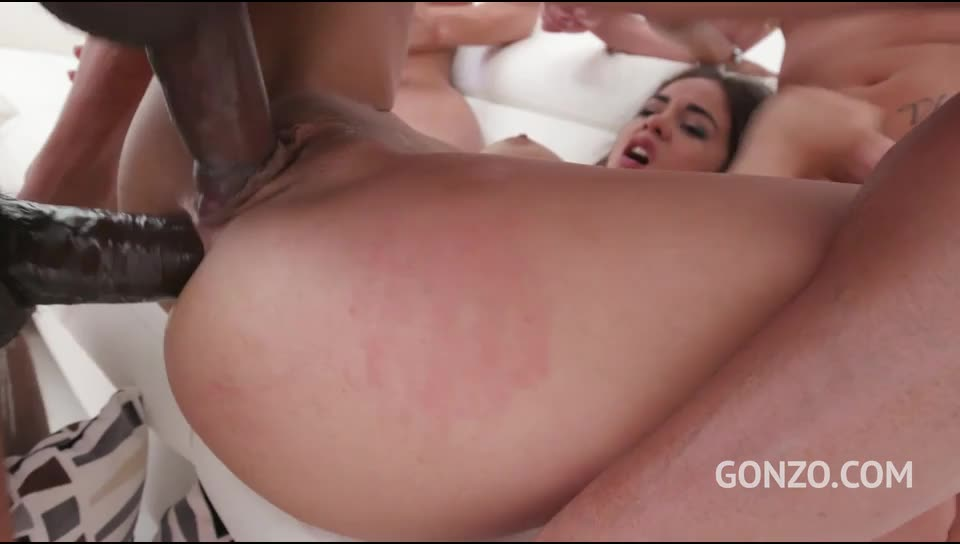 [LegalPorno] Incredibly hot Ginebra Bellucci assfucked balls deep by Gonzo monster cock team - Ginebra Bellucci (GangBang)/(Natural Tits)