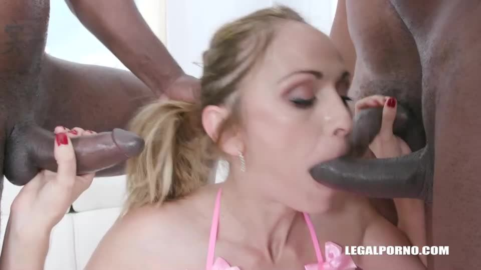 Back To Get Fucked By 3 BBC (LegalPorno) Screenshot 5