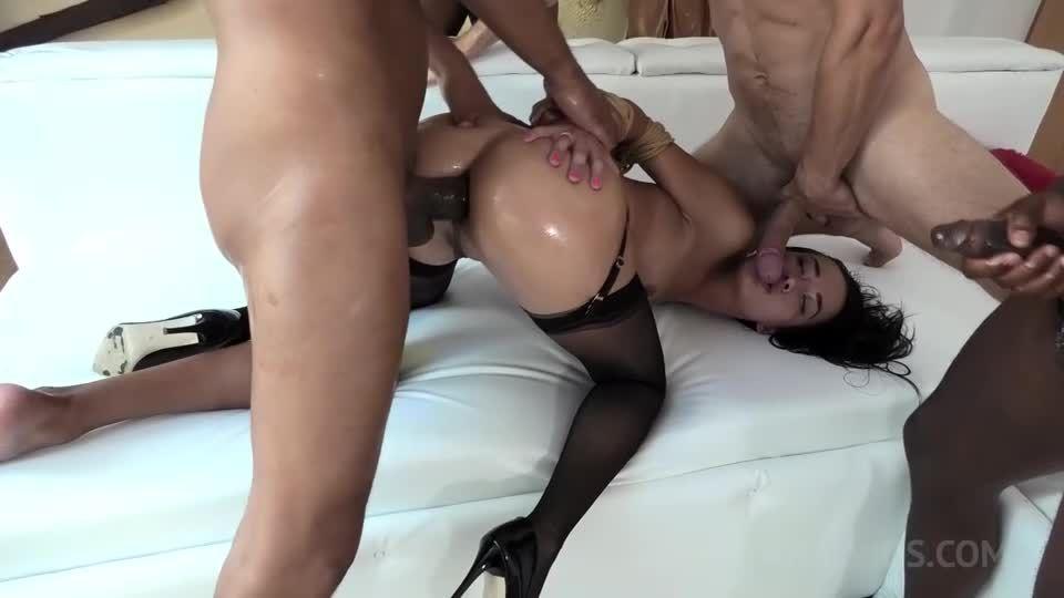 Nasty Freya Dee anal fucked balls deep with BDSM, Gapes, Farts and Huge Facial NF028 (LegalPorno) Screenshot 3