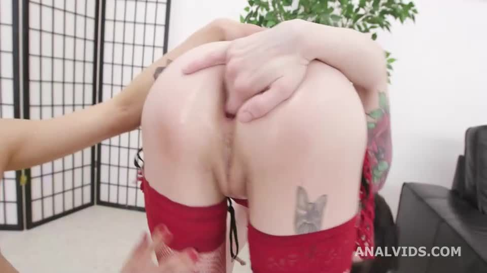 Pee and Roses #1 , Anal Fisting, DAP, Big Gapes, ButtRose, Pee Drink, Creampiee Swallow (LegalPorno / AnalVids) Screenshot 1