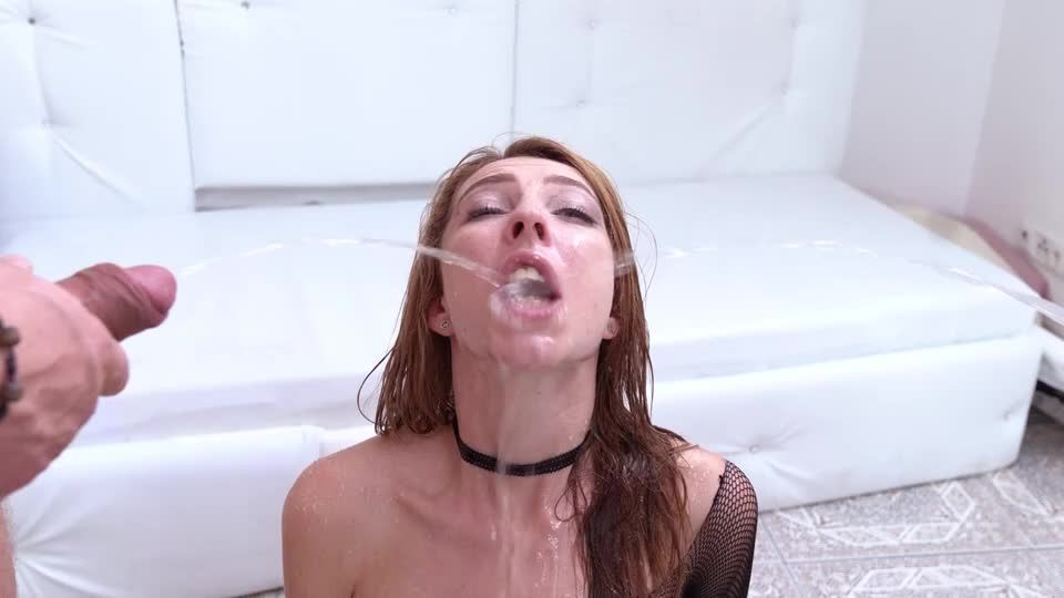 Halloween with DP, piss drinking and facial cumshot NF046 (LegalPorno / AnalVids) Screenshot 9