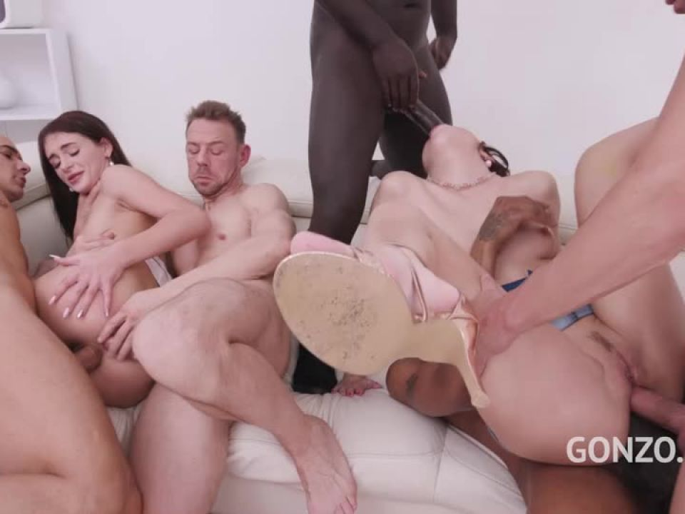 Assfucked together by monster cocks (LegalPorno) Screenshot 6
