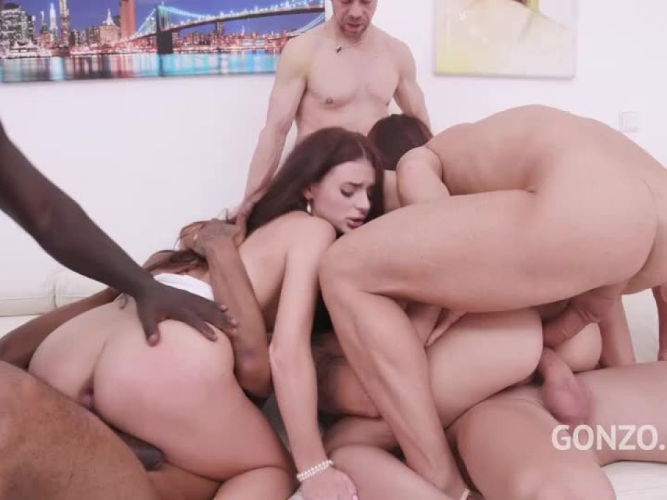 Assfucked together by monster cocks (LegalPorno) Screenshot 8