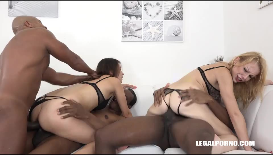[LegalPorno] Fisting & double anal for two whores – Part 2 - Rebecca Black, Roxy Dee, Rebecca Sharon (DAP)/(Fisting)