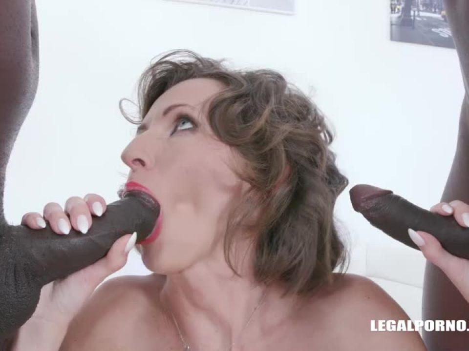 Enjoys black cocks (LegalPorno) Screenshot 2