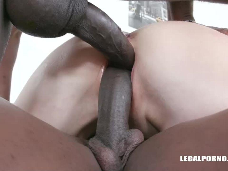 Enjoys black cocks (LegalPorno) Screenshot 6