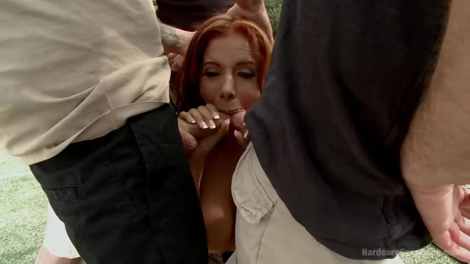 Hot Latina MILF in a steamy tennis-court take-Down! (HardcoreGangBang / Kink) Screenshot 2