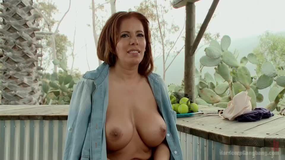 Hot Latina MILF in a steamy tennis-court take-Down! (HardcoreGangBang / Kink) Screenshot 9