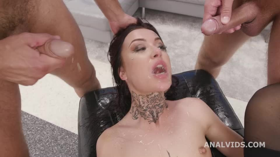 [LegalPorno / AnalVids] Funneled. Balls Deep Anal, DAP, Gapes, Pee Drink and Swallow - Tabitha Poison (DAP)/(Piersing)