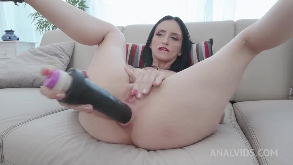 Hot brazilian takes on 4 huge cocks and gets DAP'ed YE126 (LegalPorno / AnalVids) Screenshot 0