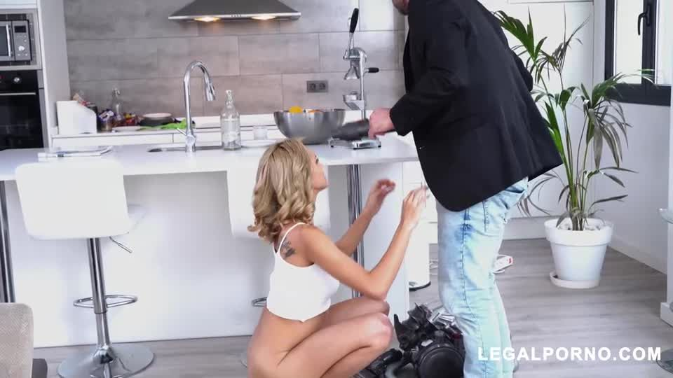 Horny Latin Teen Gets DP And Squirts (LegalPorno) Screenshot 2
