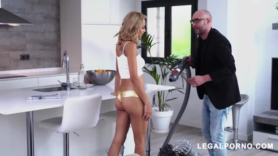 Horny Latin Teen Gets DP And Squirts (LegalPorno) Screenshot 5