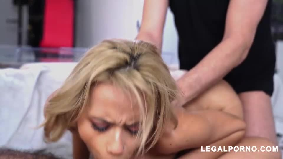 Horny Latin Teen Gets DP And Squirts (LegalPorno) Screenshot 8