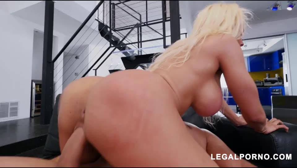 [LegalPorno] Latina Queen Shows Us Why Shes A Pornstar Vs 2 Cocks AB007 - Luna Star (DP)/(Blonde)
