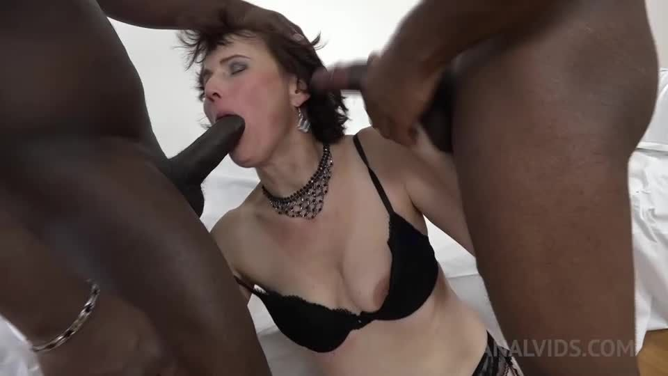 Kinky interracial DP KS084 (LegalPorno) Screenshot 5