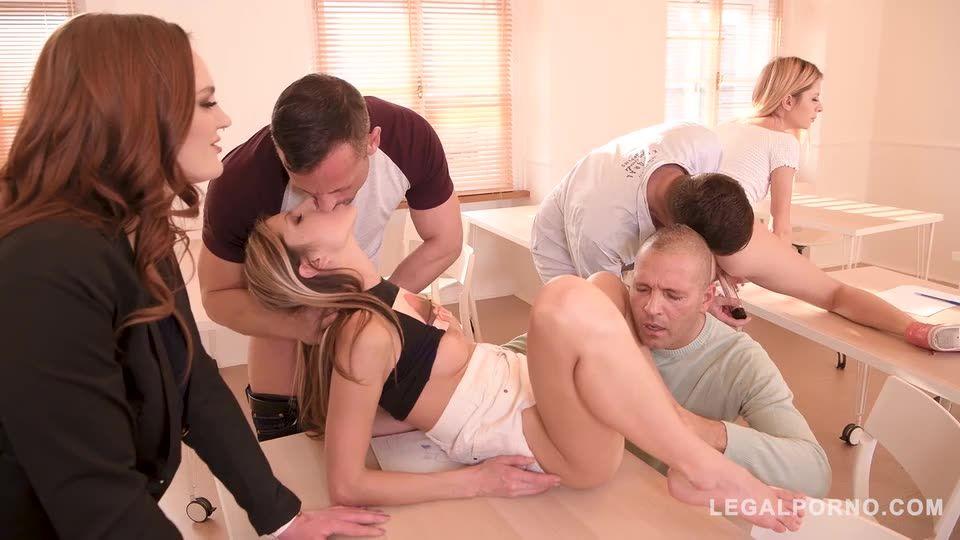 Sex Teacher shows how to Suck Fuck Hardcore (LegalPorno) Screenshot 5
