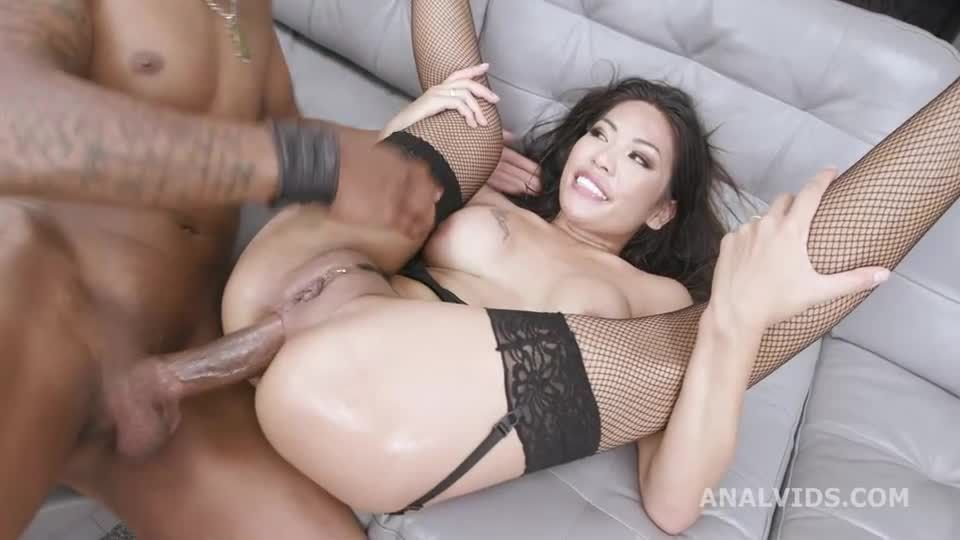 In Control, Rules the Stage with Balls Deep Anal, Big Gapes, Creampie and Swallow (LegalPorno) Screenshot 6