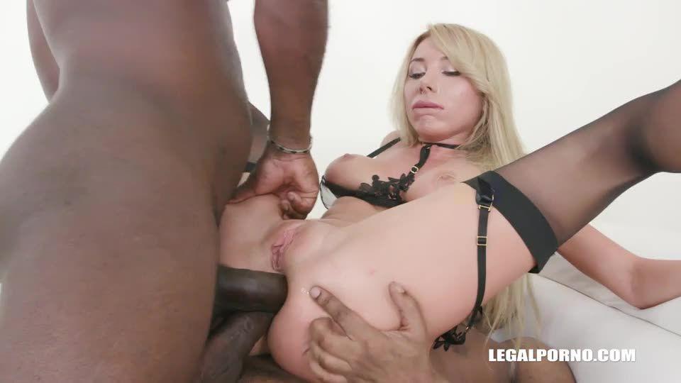 Keeps enjoying black cocks (LegalPorno) Screenshot 0