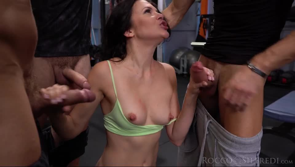 Rocco'S Fitness Sluts: DP Edition (RoccoSiffredi) Screenshot 1