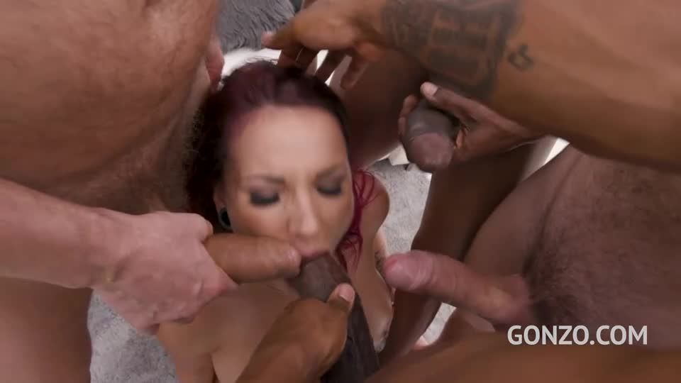 Rough balls deep fuckign with DAP & Triple Penetration (LegalPorno / Gonzo) Screenshot 3