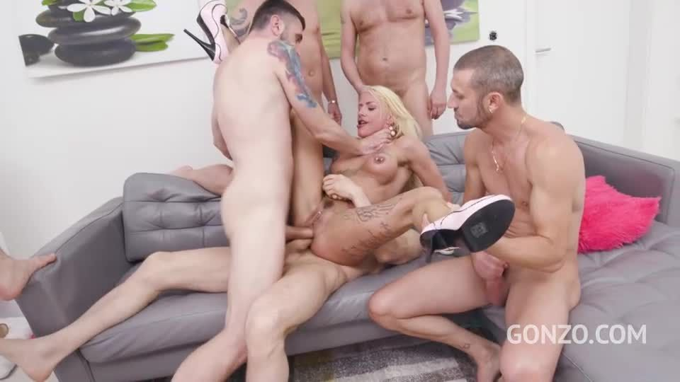 Double anal gangbang (LegalPorno) Screenshot 8