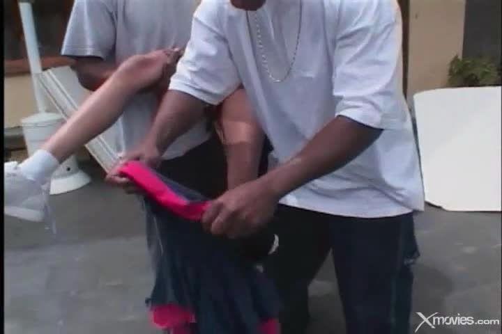 Black Cheerleader Gang Bang 4 (Woodburn) Screenshot 0